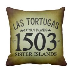Rest your head on one of Zazzle's Spanish decorative & custom throw pillows. Cayman Islands, Decorative Throw Pillows, Caribbean, Spanish, Sisters, Typography, Rustic, Decorative Pillows, Letterpress