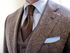 brown by design for a sleek look around the office this winter - men's #fashion