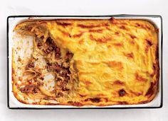 Greek Lasagne (Pastitsio) Recipe - Saveur.com