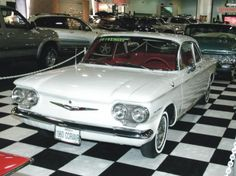 1960 Chevrolet Corvair.  loved loved loved my little corvair