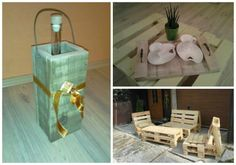 Pallets accessories & furnitures