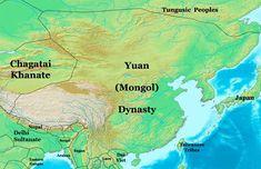 The Secret of World History: Yuan Dynasty World Empire, Kublai Khan, Ap World History, 14th Century, Mongolia, Cartography, Continents, Reign, Genghis Khan