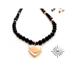 "Handmade necklace ""Heartbeat"". #handmade #jewelry #accessories #necklace http://mghandmade.com/"