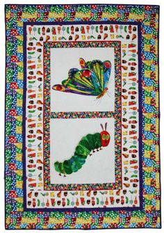 Free: The Very Hungry Caterpillar Quilt Pattern: Free Download