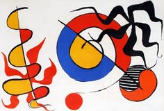 Untitled 1965 by Alexander Calder