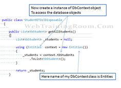 dbContext objects in entity framework Writing Code, Start Writing, Entity Framework, Check Box, Sql Server, All You Can, Application Development, Objects, Things To Come