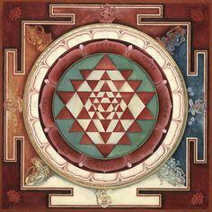 Sri Yantra: the Mandala of the goddess Lalita Shree Yantra Shri Yantra Siva Shiva lingum Shakt Sri Yantra, Chakras, Tibetan Art, Mother Goddess, Goddess Lakshmi, Laurent, Sacred Art, Tantra, Sacred Geometry