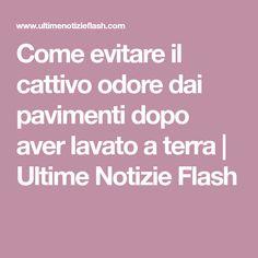 Come evitare il cattivo odore dai pavimenti dopo aver lavato a terra   Ultime Notizie Flash