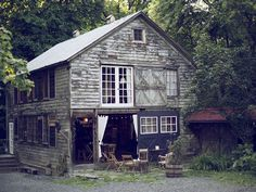 You can rent this barn home!