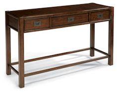 "Sonoma  Sofa Table    Model 6625-04  32""H x 54""W x 18""D"