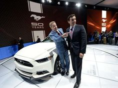 Ford's 50th anniversary Mustang looks like original via @Jill Jackson Norris TODAY