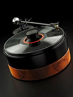 Pull out the old vinyl records on this sleek designed AMG V12: Turntable Rocker – Made in Bavaria (Germany).