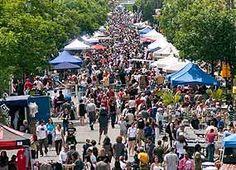 Trade Fair on the Avenue du Mont-Royal