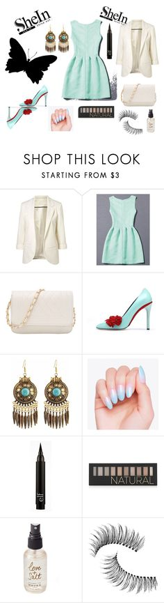 """""""#Shein"""" by ermina-camdzic ❤ liked on Polyvore featuring Oscar de la Renta, Forever 21, Olivine and Trish McEvoy"""