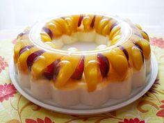 Great idea for a beautiful, light summertime dessert. It is Eastern European in origin.