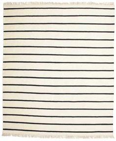 Dorri Stripe - White / Fekete szőnyeg CVD13964