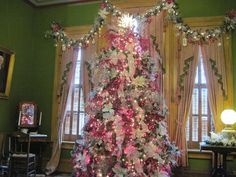 """This year's theme was """"A Silver Victorian Christmas"""""""
