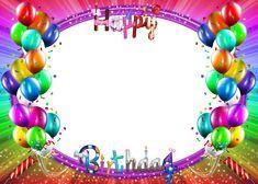 Happy Birthday Frame, Happy Birthday Photos, Birthday Frames, Happy Birthday Banners, Happy Birthday Wishes, Birthday Cards, Birthday Card With Photo, Birthday Photo Frame, Paw Patrol Birthday Invitations