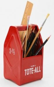A unique office supply caddy by Romodelista. $19 #office