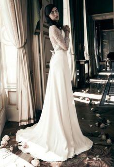 jenny packham 3 novia vestido corte imperio detalles plata