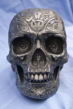 Celtic Skull, photo by me. Beautiful works made with this stock The Gift Vine of Roses Venom Halloween Darket Birthday Fire-shaman by :lihass.deviantart.com/ar...