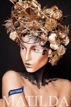 Фото : Дмитрий ИноземцевФейс-арт выполнен на HD косметике GRAFTOBIAN Matilda make-up school.