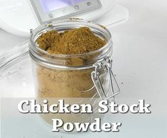 Homemade stock powder is so much better than the one you buy at the store. natural, free of preservative and you know exactly what you are eating. This Thermomix stock powder should be one Thermomix Soup, Thermomix Desserts, Whole Food Recipes, Cooking Recipes, Cuisines Diy, Homemade Chicken Stock, Powder Recipe, Homemade Seasonings, Dehydrated Food