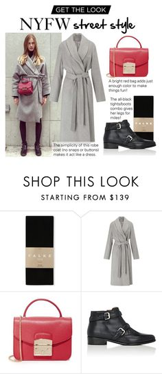 """""""Express Yourself!"""" by polyvore-editorial ❤ liked on Polyvore featuring Falke, Miss Selfridge, Furla and Tabitha Simmons"""