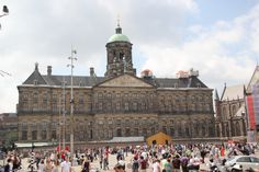 Palace on Dam square in Amsterdam