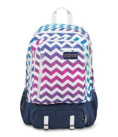 Protect your digital world with the JanSport Envoy backpack. Featuring dedicated top-loading 15 inch laptop pocket, soft lined tablet pocket, cord storage, deluxe