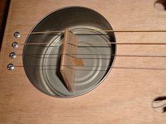 Davidoff Resophonic resonator & bridge by Resist Instrument Works, via Flickr