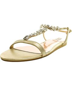 BADGLEY MISCHKA Badgley Mischka Amuse Ii   Open Toe Leather  Sandals'. #badgleymischka #shoes #sandals