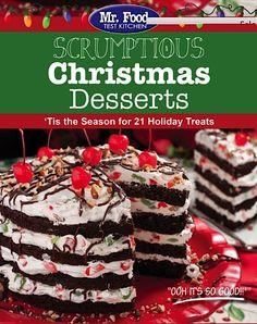 FREE eCookbook: 21 Scrumptious Christmas Desserts! #Christmas #dessert #recipes