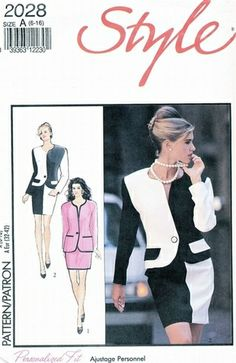 Style Pattern 2028 Personalized Fit Suit   What-I-Found