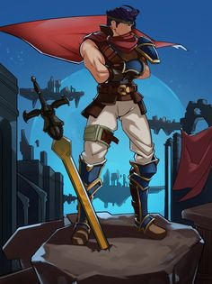 Ike by SplashBrush.deviantart.com on @DeviantArt