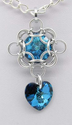 chainmaillecrafting.com Chainmaille Pendants Introduction
