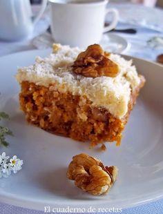 La mejor tarta de zanahoria del mundo brioche quiches and tasty pastel de zanahoria forumfinder Choice Image