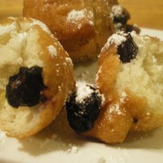 Mini Blueberry Corn Fritters #recipe | Justapinch.com