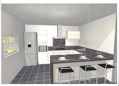 """Bonjour a tous.      Voila je fais construire et j'ai un budget de 5000 environ pour ma futur cuisine (sans electromenager, sans robinetterie, sans tabouret).      C'est une cuisine ouverte et j'ai deja ...... (Page 2 - Forum """"Cuisine : aménagement et décoration"""")"""