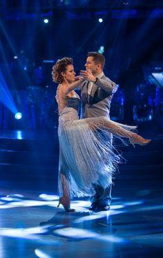 Strictly Come Dancing Semi Finals - Caroline Flack and Pasha Kovalev