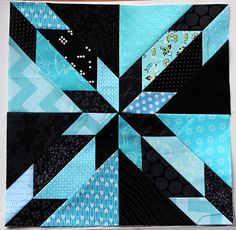 hunter star block pieces by Wombat Quilts Free Paper Piecing Patterns, Star Quilt Patterns, Pattern Blocks, Pattern Paper, Star Quilt Blocks, Star Quilts, Amish Quilts, Quilting Projects, Quilting Designs