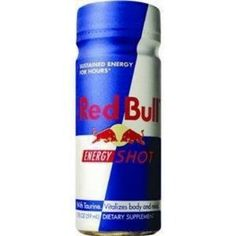 Red Bull Energy Shot, 2-Ounce Bottles (Pack of 24) (Grocery)  http://www.amazon.com/dp/B003PFWOKG/?tag=iphonreplacem-20  B003PFWOKG