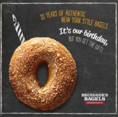 3 FREE Bagels At Bruegger's Bagels On 2/5! | http://www.cravingmycoupons.com/3-free-bagels-at-brueggers-bagels-on-25/