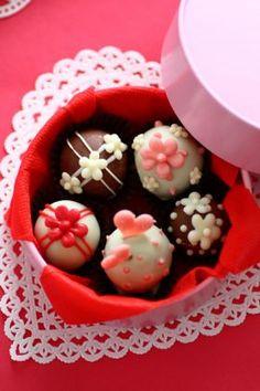 「バレンタイントリュフ」あいりおー | お菓子・パンのレシピや作り方【corecle*コレクル】