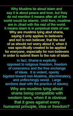 It was spawn from the same vile content of the Torah. Contempt for women, abuse of children and making the rest of the world their enemy. Islam is only peace for muslims who are acting the why other muslims think they are suppose to act.