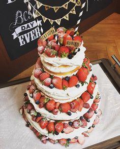 可愛すぎる#weddingcake ✨ …