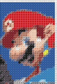 a site where you can upload a photo and it will give you a quilt pattern! Or use it for cross stitch, crochet, perler beads ...