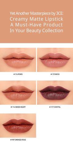 3CE MOOD RECIPE LIP COLOR MINI KIT | STYLENANDA Lip Swatches