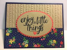 My Creative Corner!: Affectionately Yours, Layering Love, Birthday Card, Stampin' Up!, Rubber Stamping, Handmade Cards