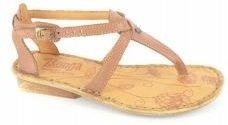 Tsonga Hazel brown Gobongo sandals